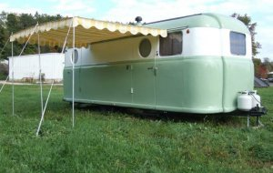 1949 Palace Royale Vintage Trailer