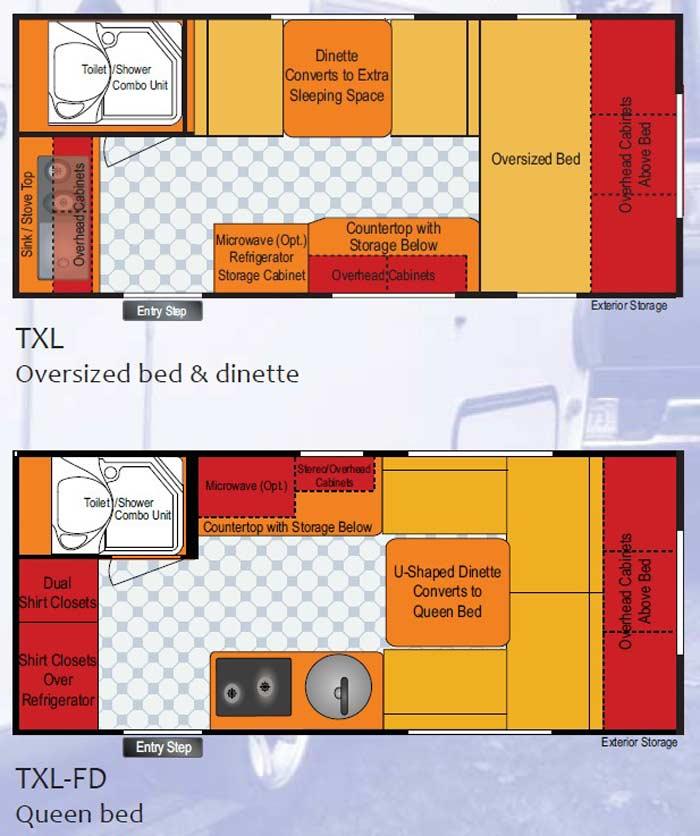 T Da Tada Travel Trailer Floorplans Large Picture