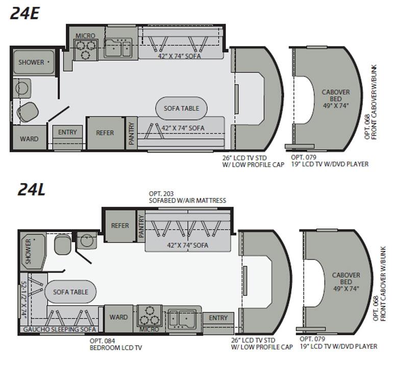Motorhome Floor Plans Class C \u2013 Gurus Floor