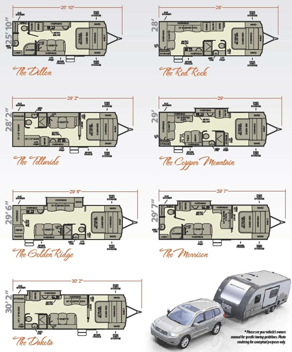 Prowler Lite  Ft Travel Trailer Floor Plans